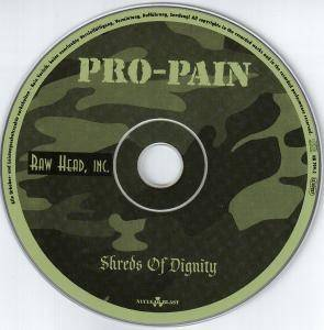 Pro-Pain: Shreds Of Dignity (CD) - Bild 3