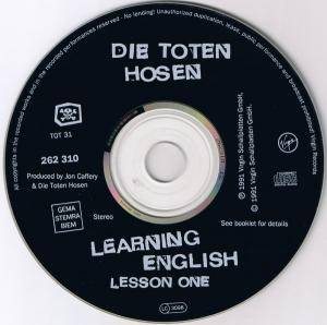 Die Toten Hosen: Learning English, Lesson 1 (CD) - Bild 2