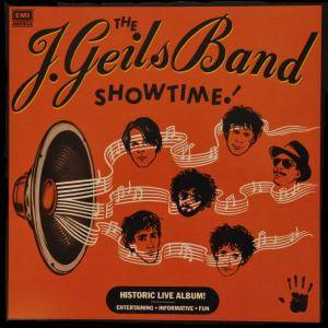The J. Geils Band: Showtime - Cover