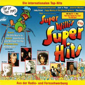 Cover - Four Tops Feat. Smokey Robinson, The: Super Willi's Super Hits - Die Internationalen Top-Hits