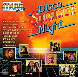 Muvi Presents Disco Summer Night - Cover