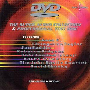 Cover - John Basile Quartet, The: Super Audio Collection & Professional Test Disc, The