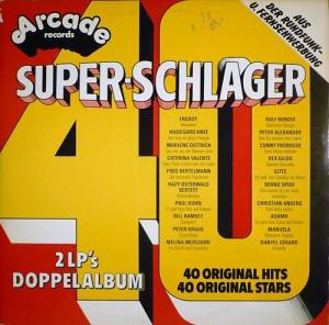 Super-Schlager - 40 Original Hits - Cover