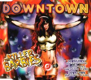 Cover - Killer Barbies, The: Downtown