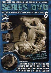 Series DVD: Metal And Hardcore Magazine Vol. 6 - Cover