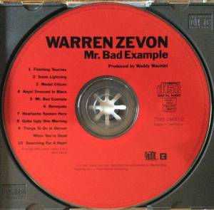 Warren Zevon: Mr. Bad Example (CD) - Bild 3