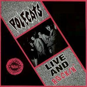 Cover - Polecats, The: Live And Rockin'