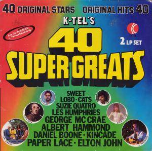 Cover - Pop Tops: K-Tel's 40 Super Greats