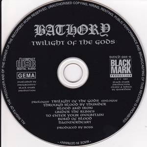 Bathory: Twilight Of The Gods (CD) - Bild 4