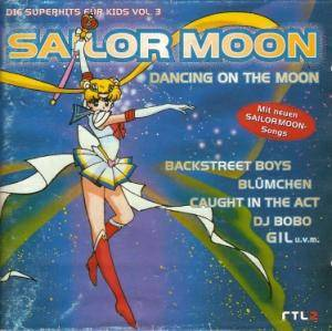 Sailor Moon - Die Superhits Für Kids Vol. 3 - Dancing On The Moon - Cover