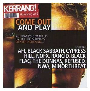 Kerrang! 0962 - Hometaping Vol 3  ~  Come Out And Play - Cover