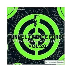 Cover - Schwarzende: Tunnel Trance Force Vol. 20