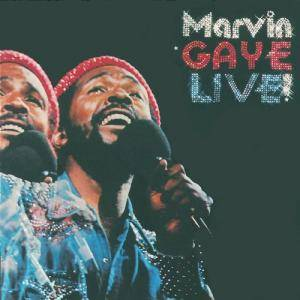 Marvin Gaye: Live! - Cover