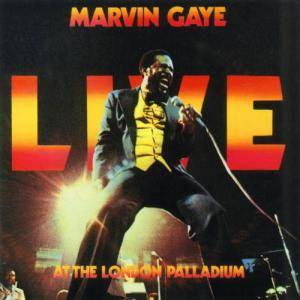 Marvin Gaye: Live At The London Palladium - Cover