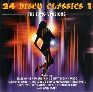 Cover - Joe Bataan: 24 Disco Classics - Volume 1