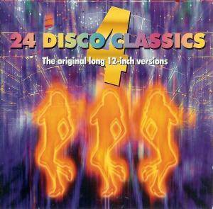 Cover - D-Train: 24 Disco Classics - Volume 4