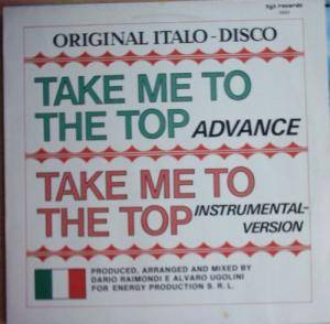 Cover - Advance: Take Me To The Top