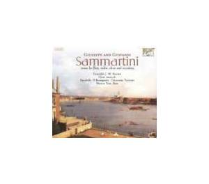Cover - Giuseppe Sammartini: Music For Flute, Violin, Oboe, And Recorders