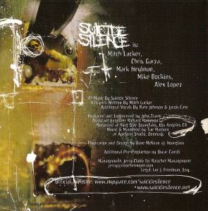 Suicide Silence: The Cleansing (CD) - Bild 5