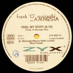 Cover - Frank 'O' Moiraghi Feat. Amnesia: Feel My Body
