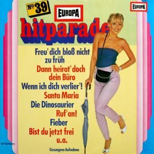 Udo Reichel Orchester: Europa Hitparade 39 - Cover