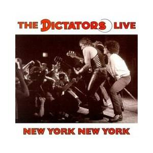 Cover - Dictators, The: New York New York