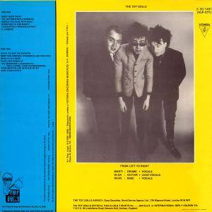 Toy Dolls: Bare Faced Cheek (LP) - Bild 2