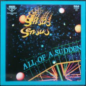Cover - Sensus: All Of A Sudden