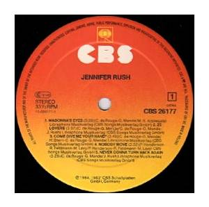 Jennifer Rush: Jennifer Rush (LP) - Bild 3