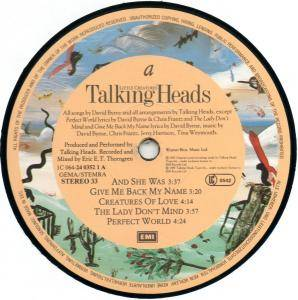 Talking Heads: Little Creatures (LP) - Bild 5
