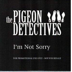 Cover - Pigeon Detectives, The: I'm Not Sorry