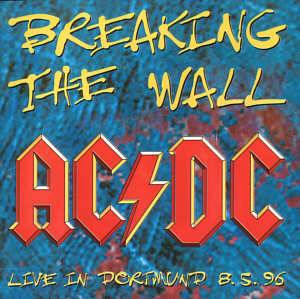 AC/DC: Breaking The Wall - Cover