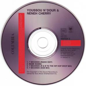 Youssou N'Dour  & Neneh Cherry: 7 Seconds (Single-CD) - Bild 4