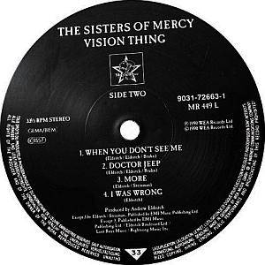 The Sisters Of Mercy: Vision Thing (LP) - Bild 5