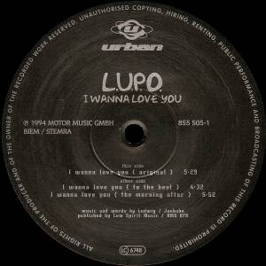 Cover - L.U.P.O.: I Wanna Love You