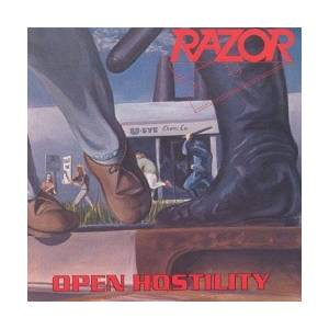 Razor: Open Hostility - Cover