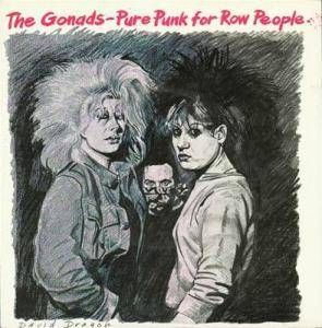 Cover - Gonads, The: Pure Punk For Row People