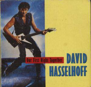 David Hasselhoff: Our First Night Together - Cover