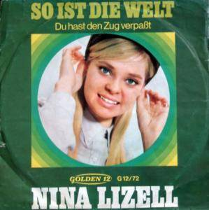 Cover - Nina Lizell: So Ist Die Welt