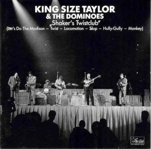 Cover - King Size Taylor & The Dominoes: Shaker's Twistclub