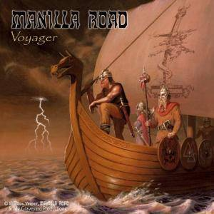 Manilla Road: Voyager - Cover