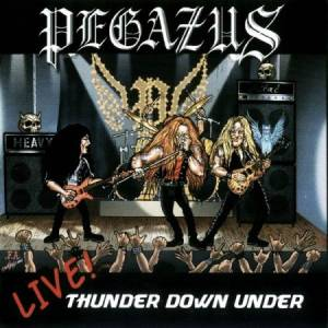Cover - Pegazus: Live! Thunder Down Under