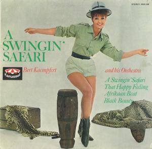 Bert Kaempfert: Swingin' Safari, A - Cover