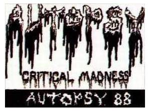 Cover - Autopsy: Critical Madness
