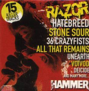 Metal Hammer 156 - Razor - Cover