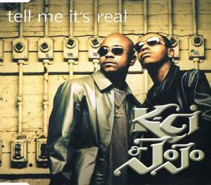 Cover - K-Ci & JoJo: Tell Me It's Real