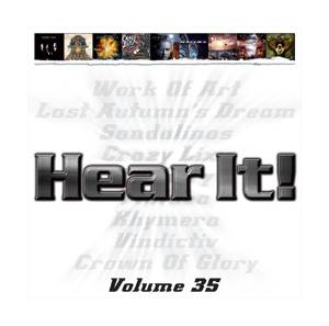 Cover - Work Of Art: Hear It! - Volume 35