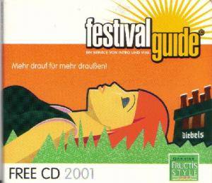 Festivalguide Free CD 2001 - Cover