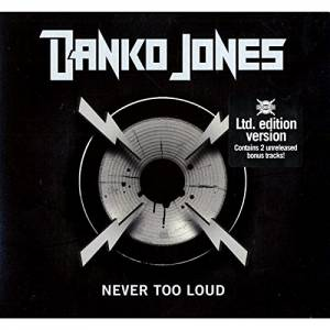 Cover - Danko Jones: Never Too Loud