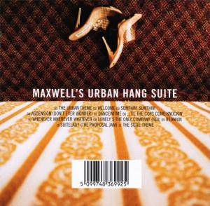 Maxwell: Maxwell's Urban Hang Suite - Cover